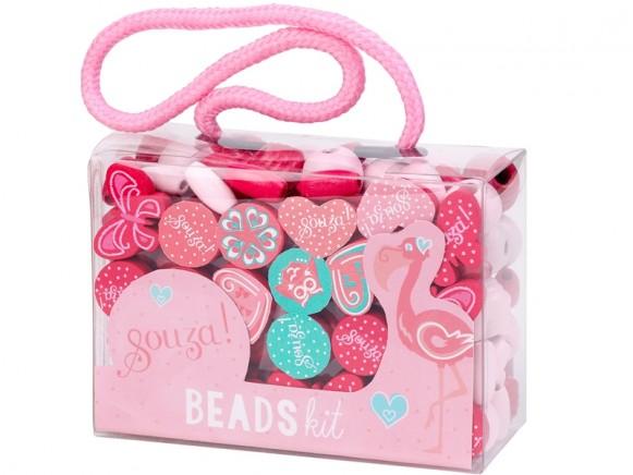 Souza Beads Kit PINK MINT
