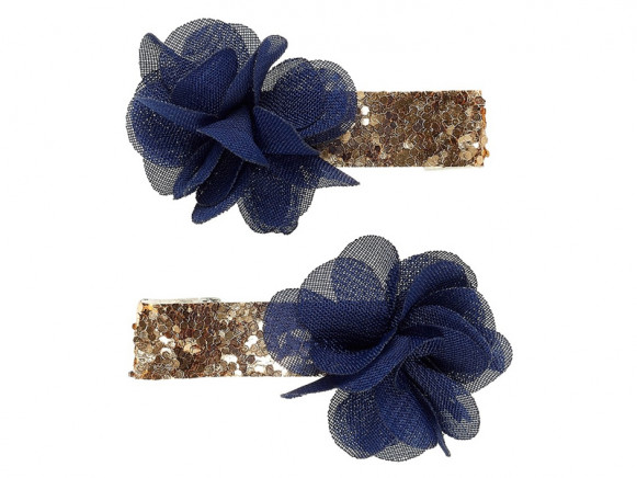 Souza 2 Hair Clips NORALIE Bloom blue