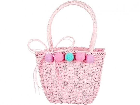 Souza Raffia Bag for Kids ANINE