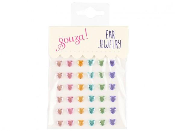 Souza Ear Clip Stickers HEARTS