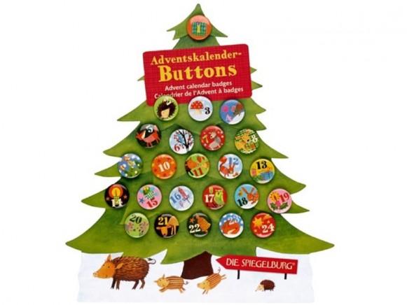 Spiegelburg advent calendar badges