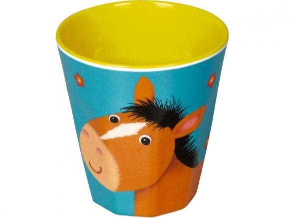 Spiegelburg melamine cup horse