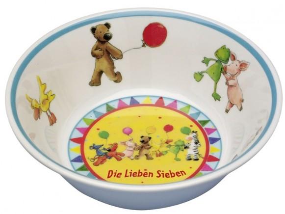 Spiegelburg Melamine Bowl DIE LIEBEN SIEBEN