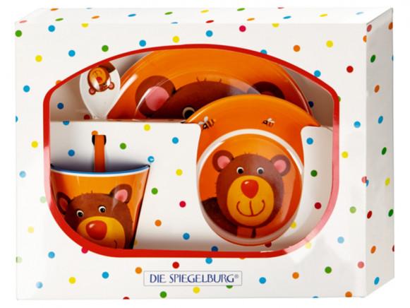 Spiegelburg Melamine Tableware Set BEAR