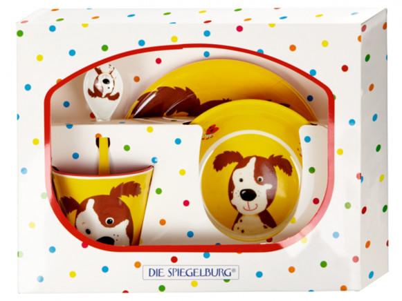 Spiegelburg Melamine Tableware Set DOG