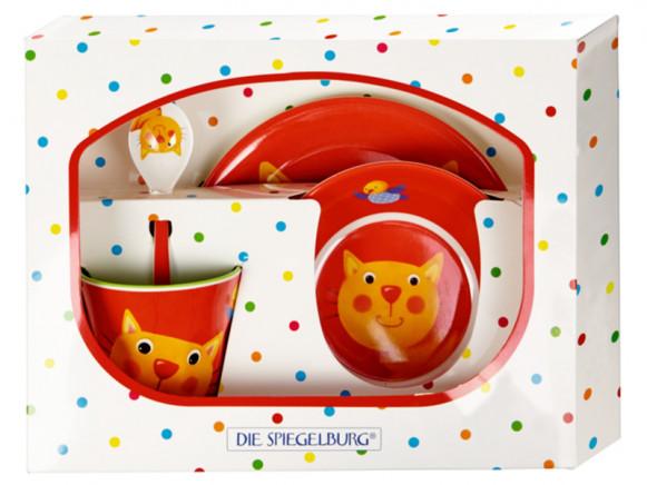 Spiegelburg Melamine Tableware Set CAT