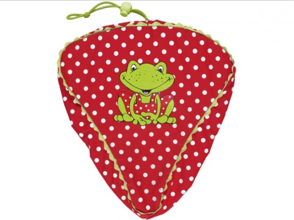 Bicycle seat cover for kids by Spiegelburg