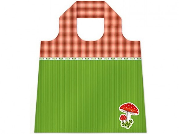 Die Spiegelburg Foldable Shopping Bag MUSHROOM