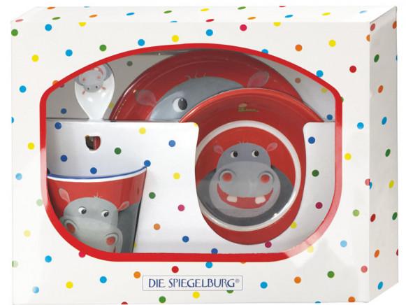 Spiegelburg Melamine Tableware Set HIPPO