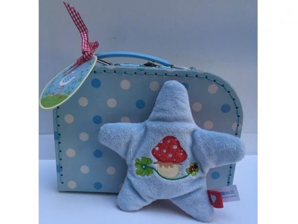 Die Spiegelburg Crackling Toy in Suitcase STAR blue