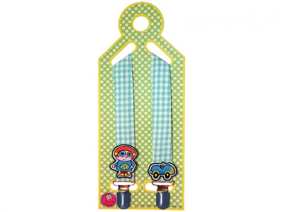 Supersoso Pacifier Towel holder BOY