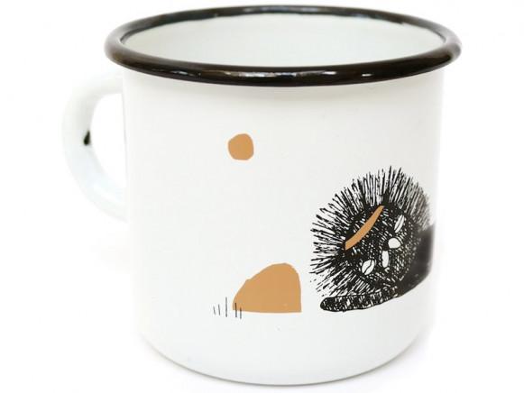 Ted & Tone Enamel Mug LION