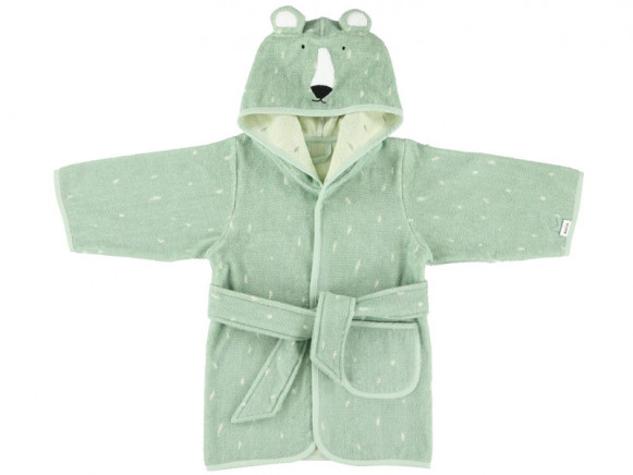 Trixie Hooded Bathrobe POLAR BEAR 1 - 2 years
