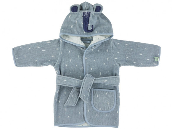 Trixie Hooded Bathrobe ELEPHANT 3 - 4 years