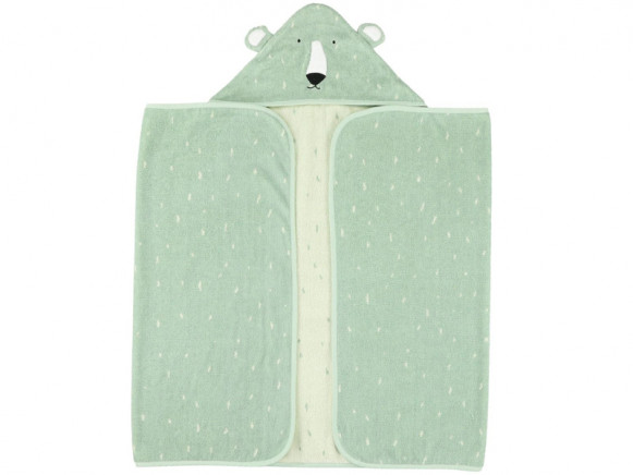 Trixie Hooded Towel POLAR BEAR S