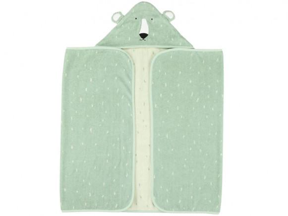 Trixie Hooded Towel POLAR BEAR L