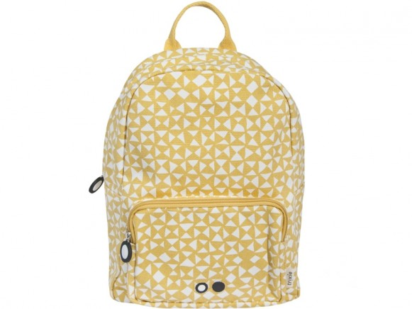 Trixie Backpack DIABOLO mustard yellow