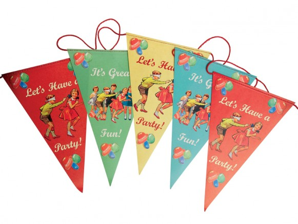 Paper garland Vintage Party