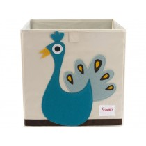 3 Sprouts storage box peacock