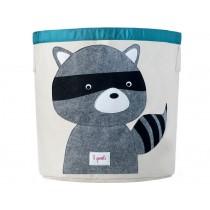 3 Sprouts storage bin raccoon