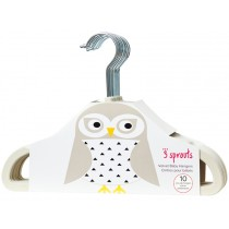 3 Sprouts non-slip hangers OWL