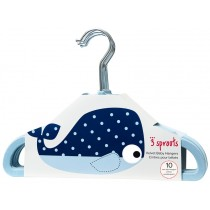 3 Sprouts non-slip hangers WHALE