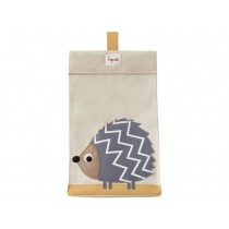 3 Sprouts diaper stacker hedgehog