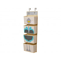 3 Sprouts hanging wall organizer OSTRICH