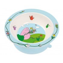 Bowl Barbapapa with suction pad by Petit Jour