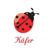 Iron-on patch Ladybird by krima & isa