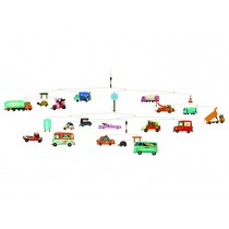 Mobile with vehicles by Djeco