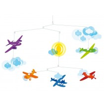 Mobile with aeroplanes by Djeco