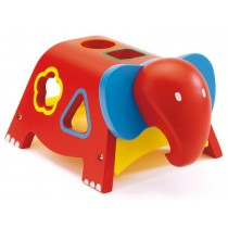 Wooden elephant sorting game by Djeco