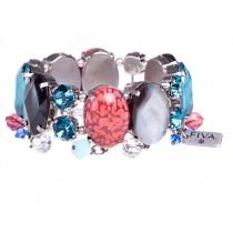 FIVA bracelet (Swarovski, Perlmutt)