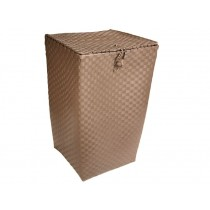 Laundry basket in darktaupe by Handed By