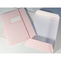 Folder map with pink dots by krima & isa