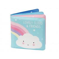 A Little Lovely Company Bath Book CLOUD & FRIENDS