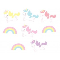 A Little Lovely Company unicorn garland