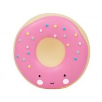 A Little Lovely Company money box donut pink
