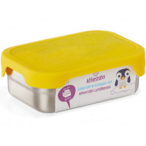Affenzahn stainless steel LUNCHBOX YELLOW