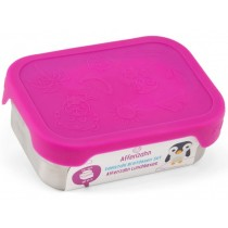 Affenzahn stainless steel LUNCHBOX PURPLE