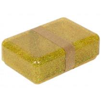 A Little Lovely Company LUNCH BOX Glitter gold