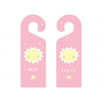 A Little Lovely Company Doorhanger Baby Miss Sunshine