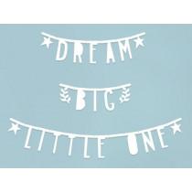 A Little Lovely Company Letter Banner Kit WHITE