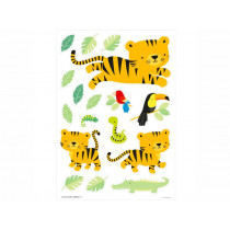 A Little Lovely Company Wall Stickers JUNGLE TIGER