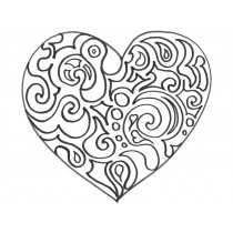 Colouring Image HEART
