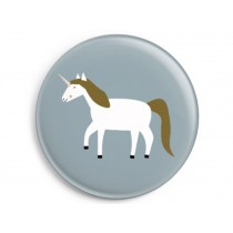 Ava & Yves Button UNICORN