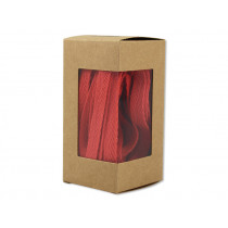 Ava & Yves Cotton gift ribbon FIRE-RED