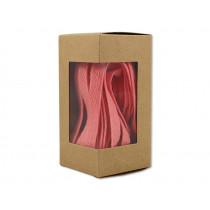 Ava & Yves Cotton gift ribbon CORAL
