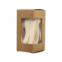 Ava & Yves Cotton gift ribbon NATURAL